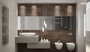 Baños de estilo minimalista por Mezzettidesign