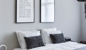 modern Bedroom by Mariska Jagt Interior Design