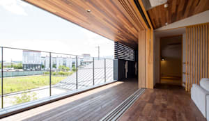 かみてつのいえ: 清建築設計室/SEI ARCHITECTが手掛けたベランダです。