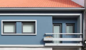 Casa rua Castro Matoso: Habitações  por Sónia Cruz - Arquitectura
