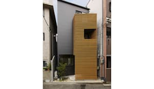 立体的につながる京町家: 株式会社Fit建築設計事務所が手掛けた家です。