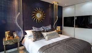 Stylish yet functional: classic Bedroom by Graeme Fuller Design Ltd