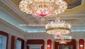 Classical chandeliers lighting in farnham surrey homify commercial chandelier lighting aloadofball Image collections