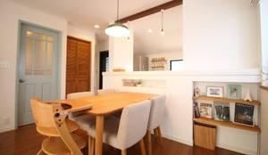 scandinavian Dining room by いえラボ