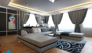 first floor:  غرفة المعيشة تنفيذ triangle