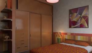 eclectic Bedroom by Arq. Rodrigo Culebro