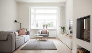 scandinavian Living room by Bob Romijnders Architectuur & Interieur