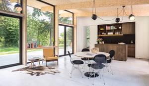 Interieur en tuin doorzonwoning von studio k interieur en