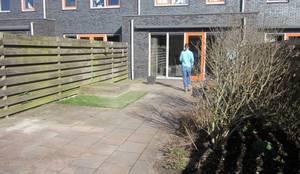 Van Dijk Tuinen Groningen: modern tarz Bahçe