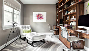 Home Offices:  Study/office by Clean Design,
