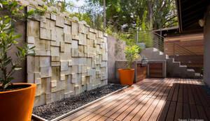 Totum / GoGreen - Litner Remodel - Exterior 5: moderner Garten von Chibi Moku
