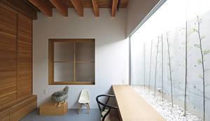 フリースペース: 空間建築-傳 一級建築士事務所が手掛けた和室です。