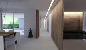 Intérieur villa contemporaine dans le Var by sebastien belle | homify