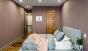 klassische Schlafzimmer von NIVEL TRES ARQUITECTURA