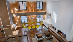Phòng khách by Rodriguez Studio Architecture PC