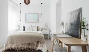 Projekty,  Sypialnia zaprojektowane przez Arkstudio