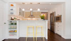 Shaker Style Kitchen Renovation - Hidden Trail: modern Kitchen by STUDIO Z