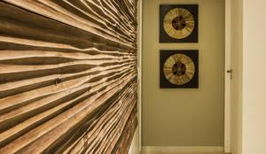 Projekty,  Salon zaprojektowane przez Cris Nunes Arquiteta