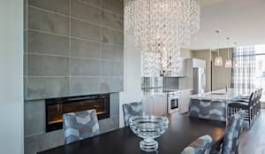 modern Dining room by Collage Designs