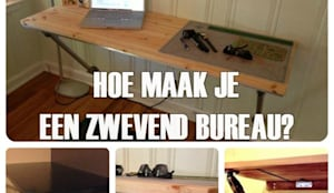 Zwevend Bureau Maken : Diy hoe kan je een zwevend bureau maken by simplified building