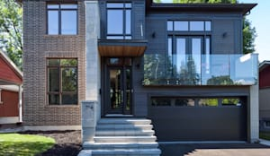 McKellar Park New Home:  Houses by Jane Thompson Architect,Modern Wood Wood effect