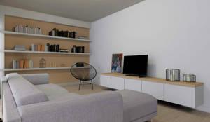 غرفة المعيشة تنفيذ Homestories