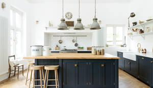 industriale Küche von deVOL Kitchens