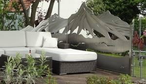 Mountain High:  Terrasse von Edelstahl Atelier Crouse - Stainless Steel Atelier
