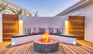 Projekty,  Balkon, taras i weranda zaprojektowane przez House Couture Interior Design Studio