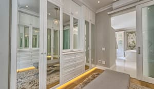 Saffraan Ave:  Dressing room by House Couture Interior Design Studio