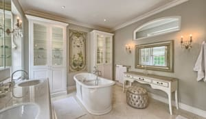 eclectic Bathroom by House Couture Interior Design Studio