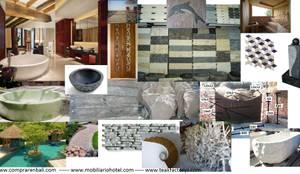 Paredes y pisos de estilo ecléctico por Ale debali study