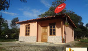 Casas de estilo rural por PREFABRICASA