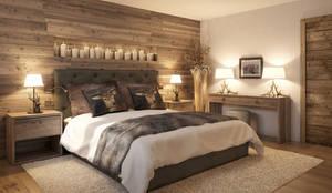 Dormitorios de estilo rural por Go Interiors GmbH