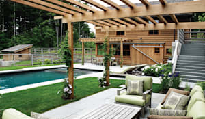 This sommer, amazing project: rustikaler Pool von Paul Marie Creation