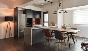 Projekty,  Kuchnia zaprojektowane przez 合觀設計