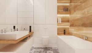 Salle de bain de style de style Scandinave par Ale design Grzegorz Grzywacz