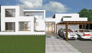 Casas modernas por Mdesign