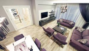 Projekty,  Salon zaprojektowane przez MAG Tasarım Mimarlık İnşaat Emlak San.ve Tic.Ltd.Şti.