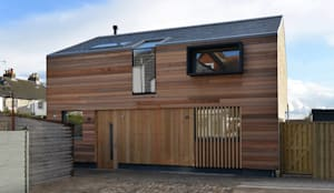 New build house: modern Houses by BBM Sustainable Design Limited
