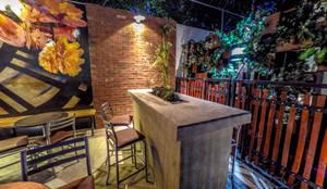 Chronos Garden: Terrazas de estilo  por Habitá Estudio Creavtivo