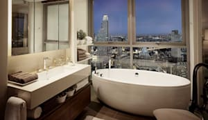 The River: asian Bathroom by HB Design Pte Ltd