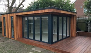 Billericay Build: modern Garden by Hudson Garden Rooms
