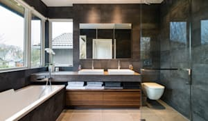 Master Ensuite: modern Bathroom by Alice D'Andrea Design
