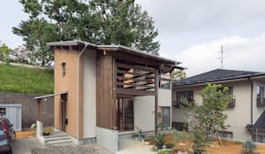 Projekty, eklektyczne Domy zaprojektowane przez 株式会社 建築工房零