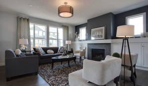 غرفة المعيشة تنفيذ Sonata Design