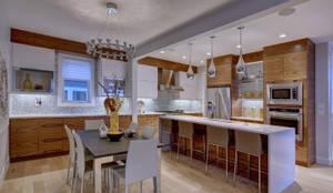 61 Paintbrush Park: eclectic Kitchen by Sonata Design