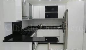 Cocina integral para espacios reducidos de cocinas for Disenos de cocinas integrales para espacios pequenos