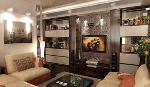 Дизайн интерьера однокомнатной квартиры 60 квм