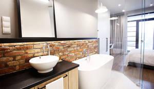 Phòng tắm by Kołodziej & Szmyt Projektowanie wnętrz